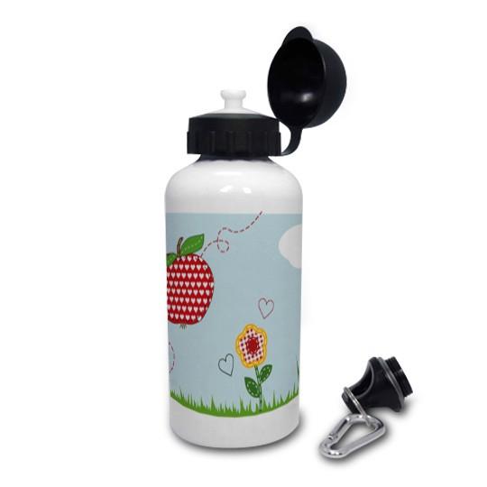 Trinkflasche mit Namen Apfel