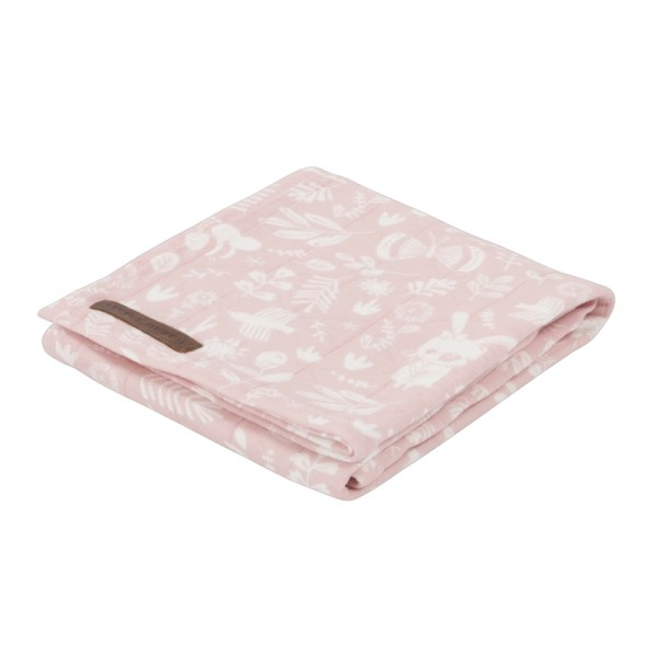 "Little Dutch - Swaddle Tuch ""Adventure Pink"" 120 x 120 cm"