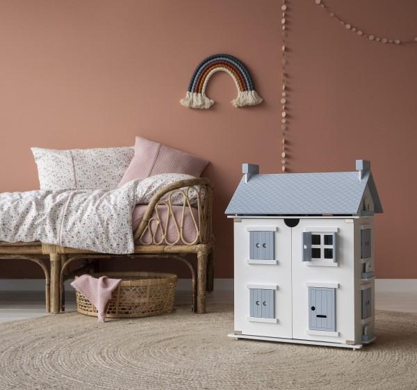 Little Dutch - Puppenhaus aus Holz - weiß/blau