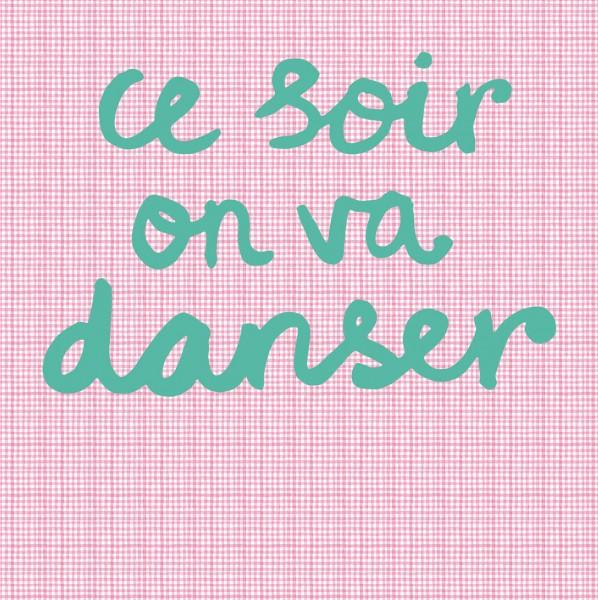 Tapeten Bild Dance Pink 280 cm x 279 cm