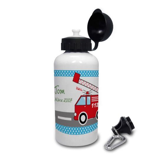Trinkflasche mit Namen Feuerwehr