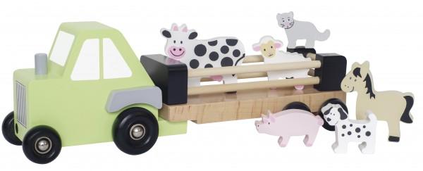 JaBaDaBaDo - Tiertransporter Holz inkl. Tiere