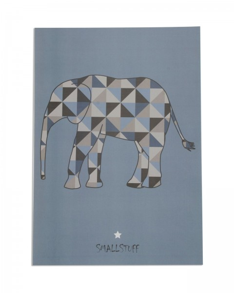 Poster Elefant Jungs