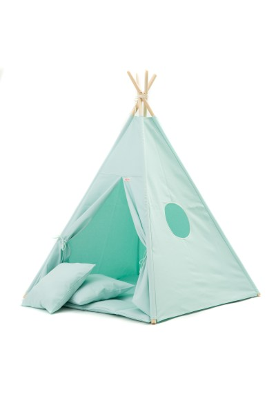 WigiWama - Tipi Set Plain-Collection - Mint