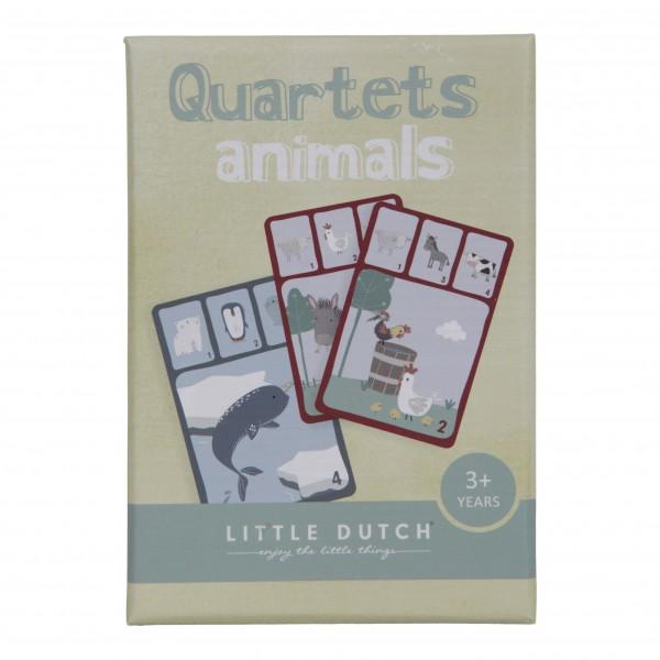 """Little Dutch - Quartett  Kartenspiel """"Tiere"""""""