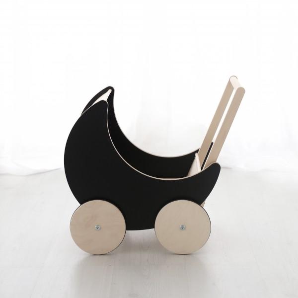 ooh noo - Puppenwagen - Blackboard - schwarz
