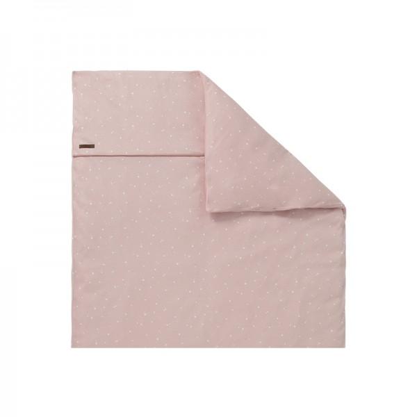 "Little Dutch - Kinderwagen-Kissenbezug ""Little Stars Pink"" 80 x 80 cm"