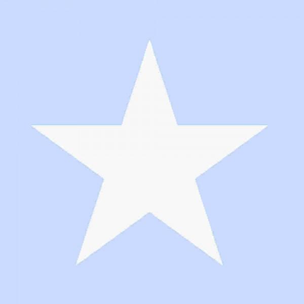 Tapete Sterne groß Hellblau