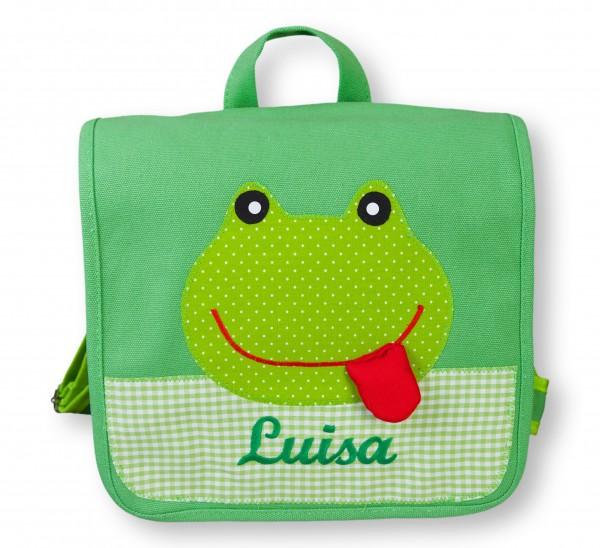 crepes suzette - Kindergartentasche Tierfreunde - Frosch