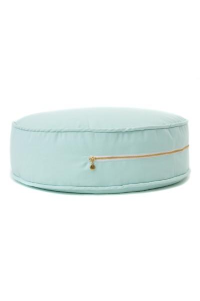 WigiWama - Sitzkissen rund - Plain Collection - Mint