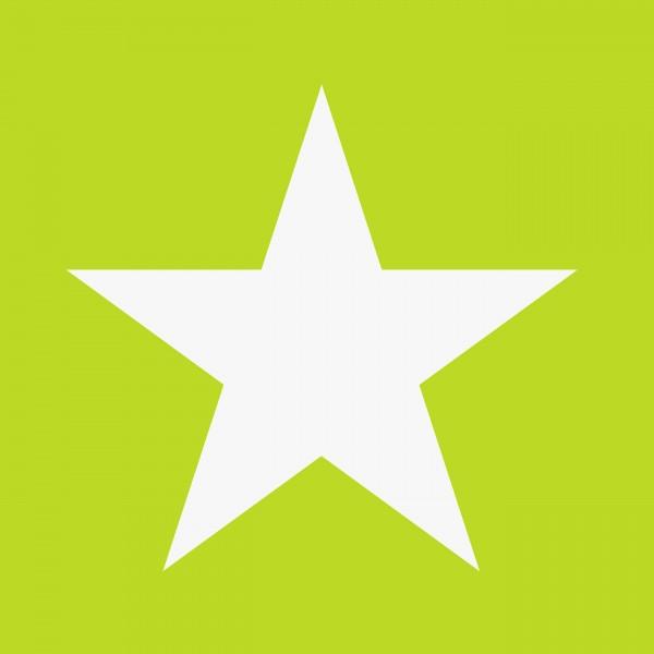 Tapete Sterne groß Grün