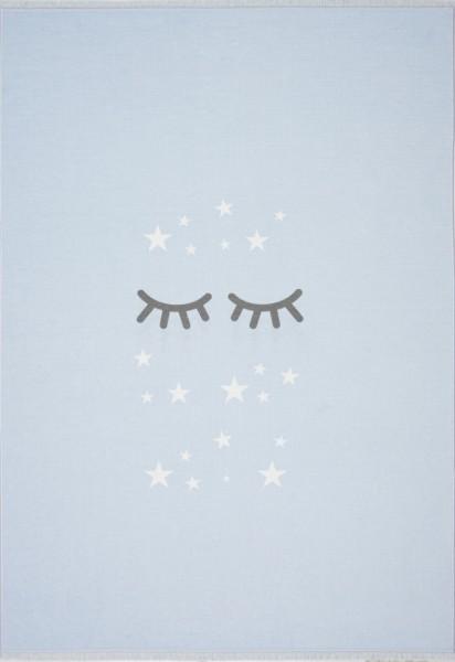 Livone - LOVE YOU SLEEPING EYES - himmelblau-weiss in verschiedenen Größen