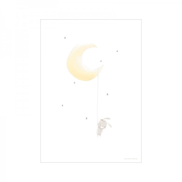 "Little Dutch - Wendeposter ""Mond & Hase"""