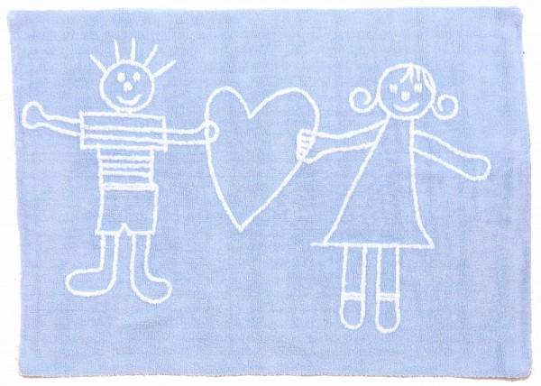 teppich f r kinderzimmer hellblau meine kleine liebe. Black Bedroom Furniture Sets. Home Design Ideas