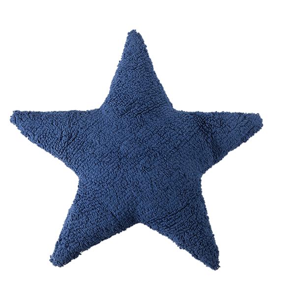 Kissen Stern Blau