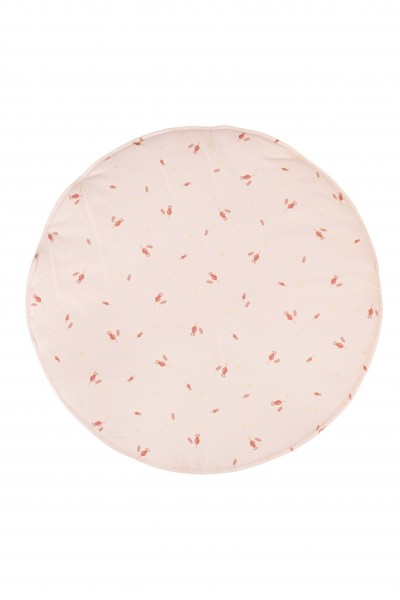 WigiWama - Spielmatte rund - Wonder Forest Collection - Misty Rose