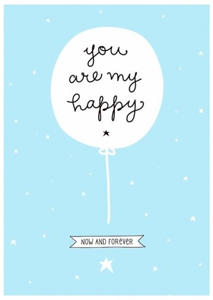 A Little Lovely Company - Poster Your are my Happy