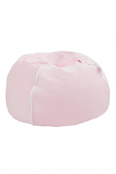 "WigiWama - Sitzball ""Bubble"" - Velvet Collection ""Rosa"""