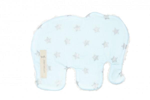 Wärmekissen Elefant Eisblau