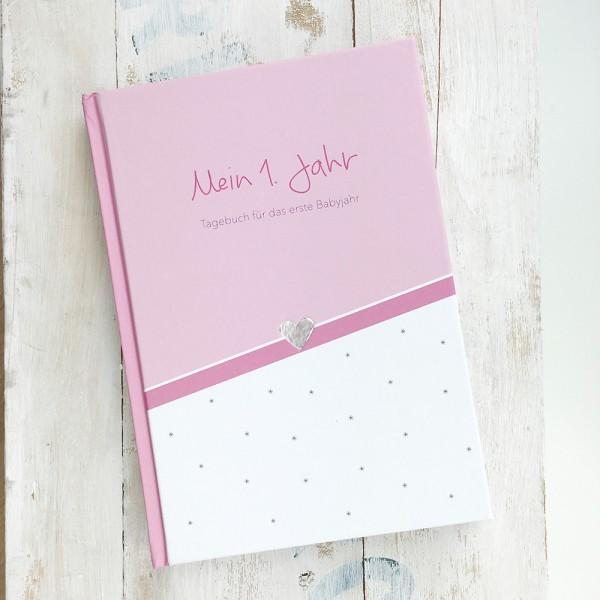 """Mintkind - Tagebuch """"Mein erstes Jahr"""" rosa"""