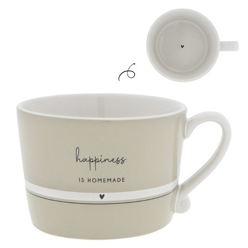 """Bastion Collections - Tasse """"happiness IS HOMEMADE"""""""