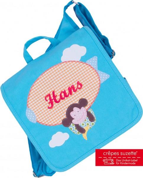 Kindergartentasche Affe