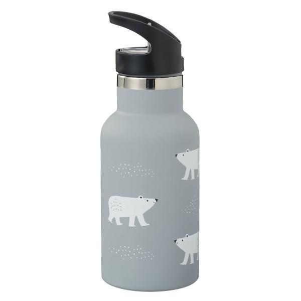 """Fresk - Thermosflasche mit 2 Verschlüssen """"Eisbär"""""""