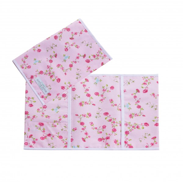 U-Heft Hülle pink blossom