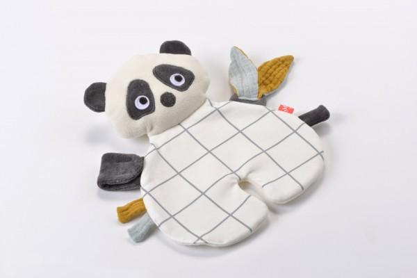 "kikadu - Schnullertuch ""Panda"""