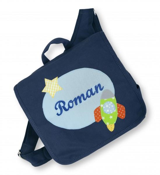 "crepes suzette - Kindergartentasche ""Roman"" dunkelblau"