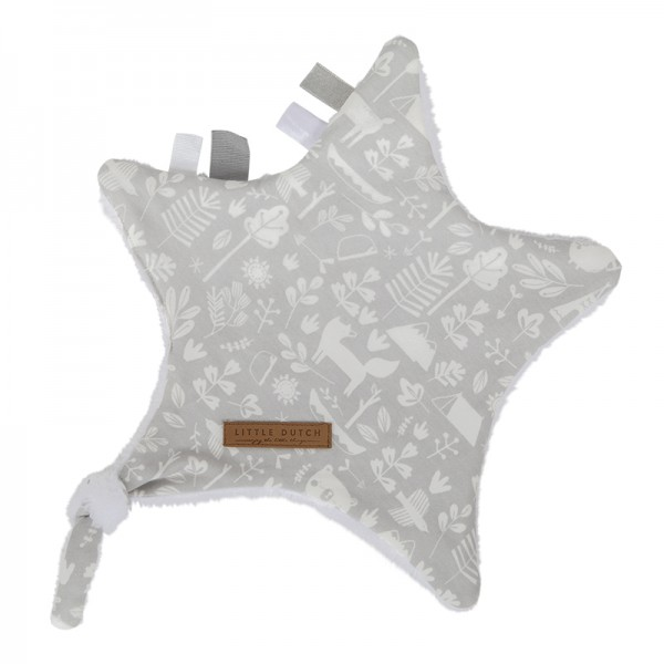 "Little Dutch - Kuschelstern ""Adventure Grey"""