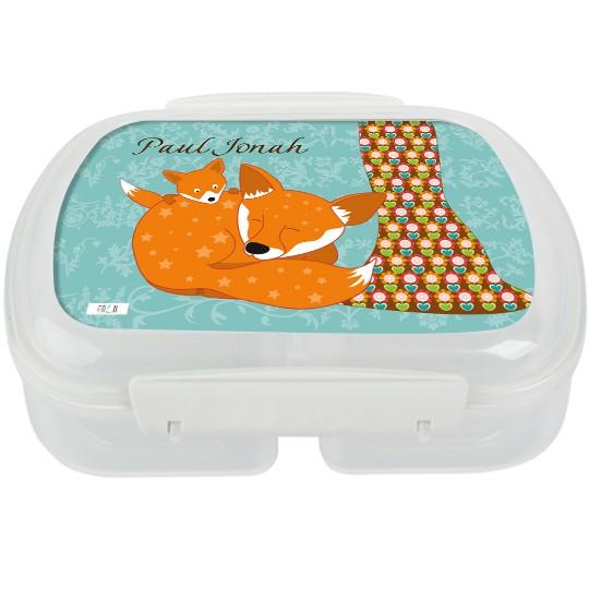 Brotdose floral Fuchs