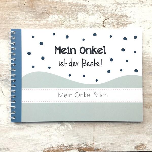 """Mintkind - Erinnerungsbuch """"Mein Onkel & Ich"""""""