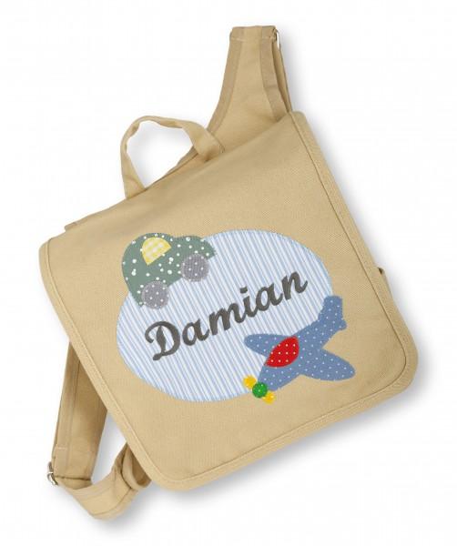 "crepes suzette - Kindergartentasche ""Damian"" sand"