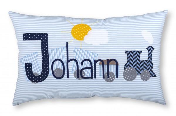 "crepes suzette - Namenskissen ""Johann"""