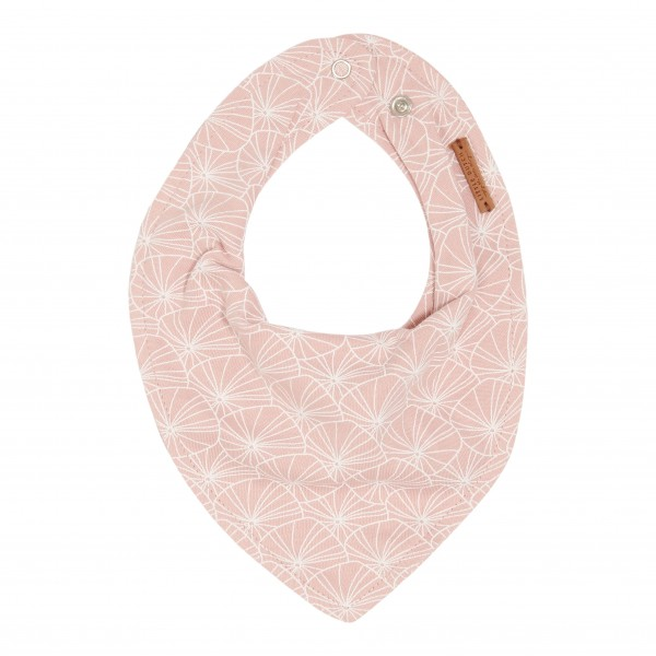 "Little Duch - Bandana / Halstuch ""Lily Leaves Pink"""