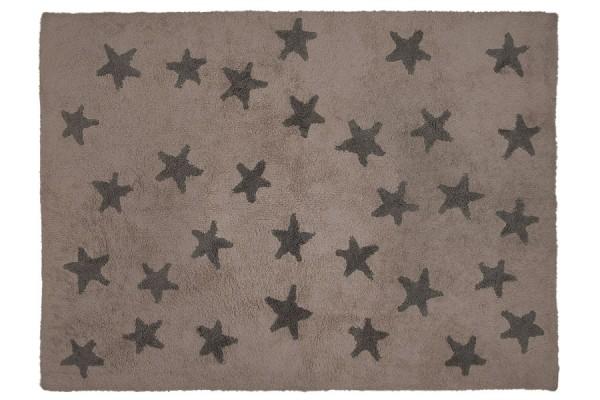 Kinderzimmerteppich Sterne Linen Grey