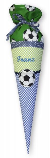 """crepes suzette - Geschwister-Schultüte """"Fußball2"""""""