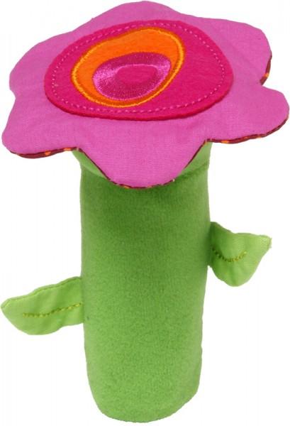 Quitscher für Babys Blume Pink