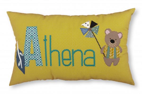 "crepes suzette - Namenskissen ""Athena"""