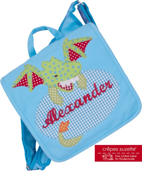 Kindergartentasche Drache