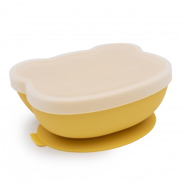 """We Might Be Tiny - Schüssel mit Deckel """"Stickie Bowl"""" - gelb"""