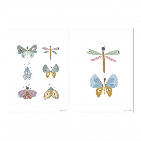 """Little Dutch - Wendeposter """"Butterflys"""""""