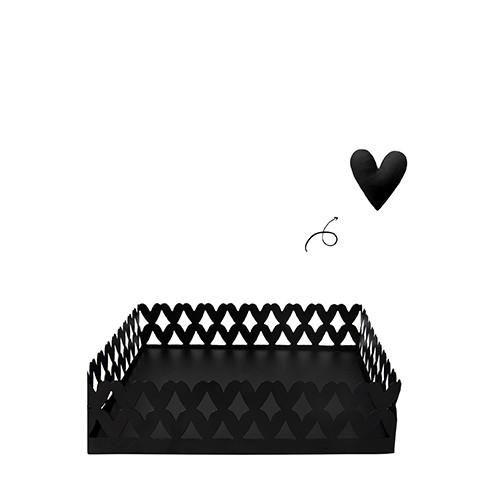 """Bastion Collections - Serviettenhalter """"Hearts/Herzen"""" klein"""