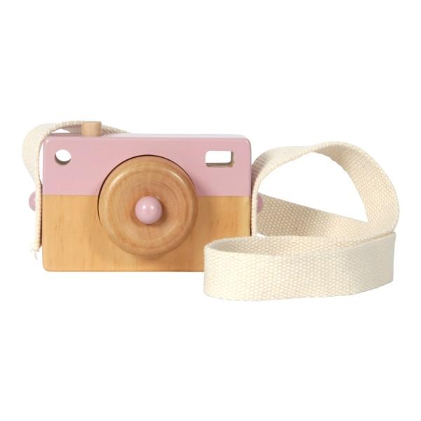 Little Dutch - Holz-Kamera Adventure pink
