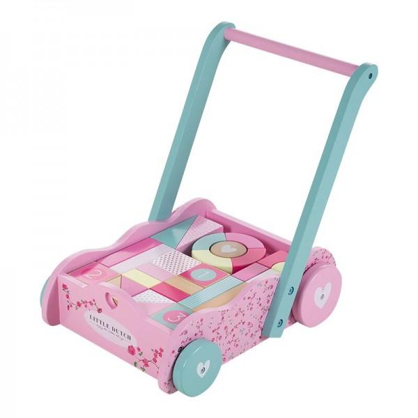 Lauflernwagen Pink Blossom