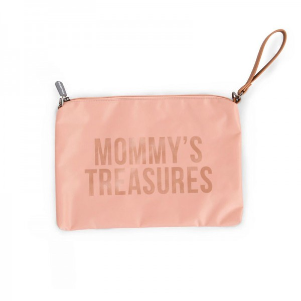 "Childhome - Clutch ""Mommy's Treasures"" - rose/kupfer"