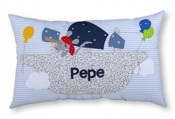 "crepes suzette - Namenskissen ""Pepe"""