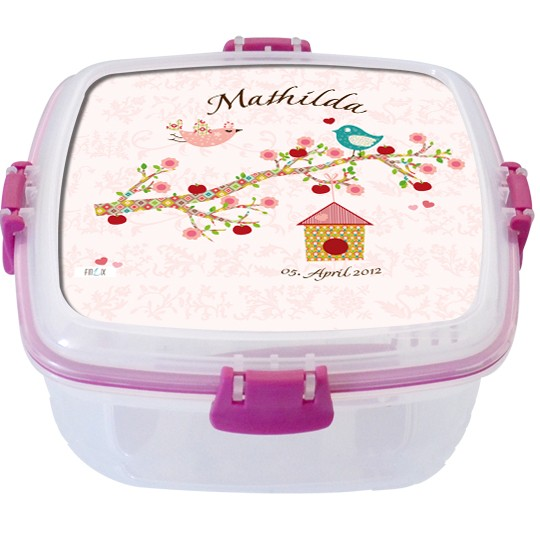 Lunchbox Floral Rosa