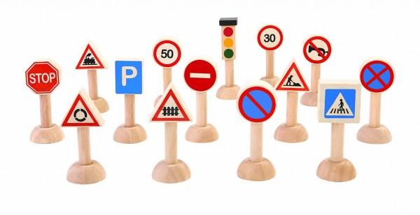 PlanToys - Verkehrsschilder